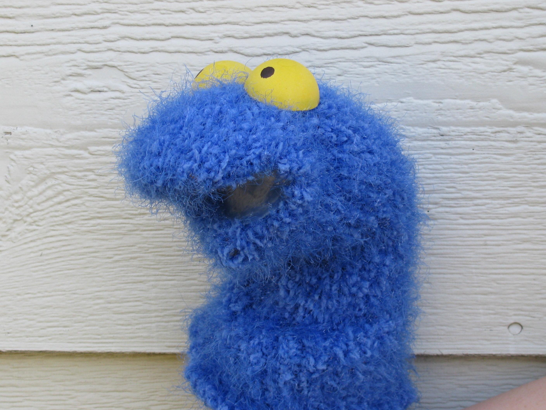 Purple/Blue Puppet Critter