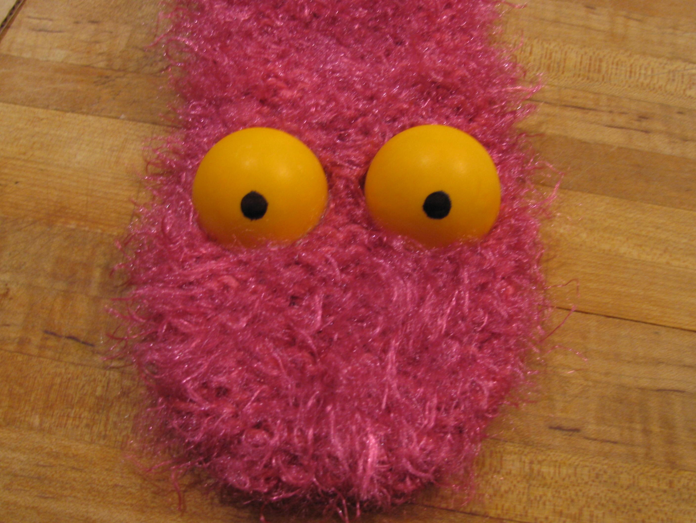 Pink Puppet Critter