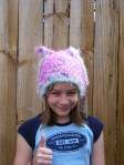 The Cotton candy Goblin Hat
