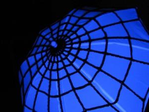 Spider Web Umbrella No. 1 - Little Miss Muffet - Exclusive Aberrant Crochet Original Design
