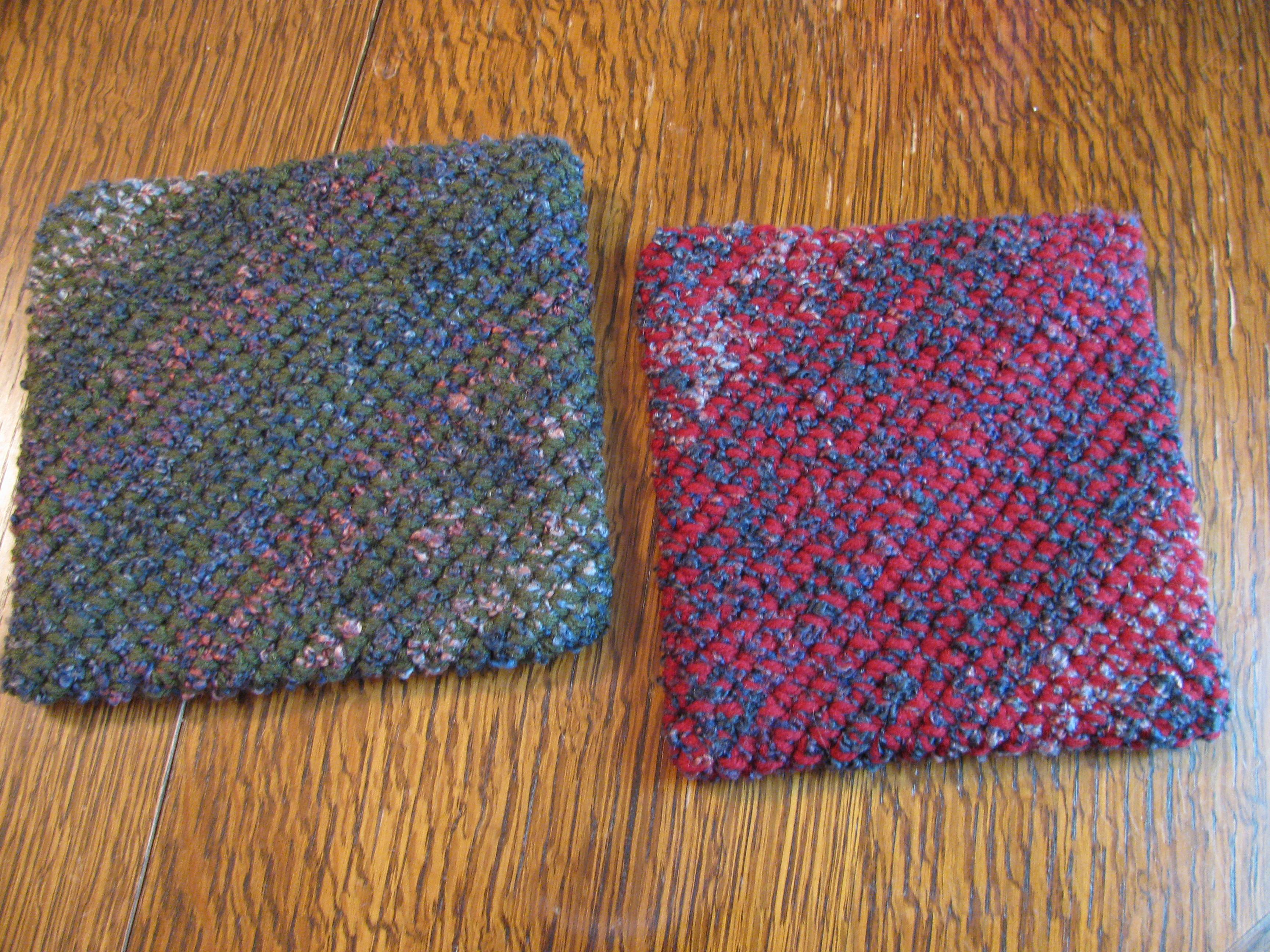 Easy To Crochet Potholders Over 25 Patterns ~ Pakbit for .