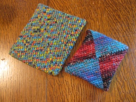 Potholders by Aberrant Crochet and Grandma