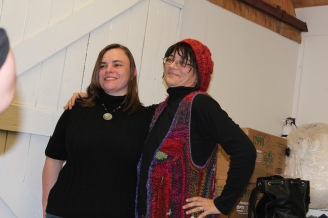 Photo of Laurie and I together, taken by Jimbo I think. Yay! Good pic!