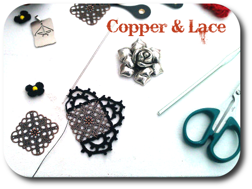If I can get my antique crochet hook into it, I crochet lace into it.