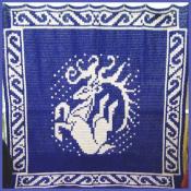 5 Ft Leaping Dear Tapestry - Aberrant Crochet