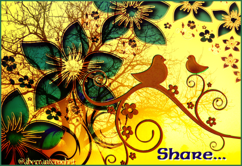 Social Media Is Sharing - article and graphic by Aberrant Crochet
