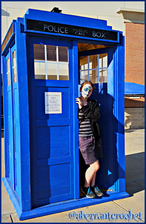 Jack n TARDIS - at TechShop Austin