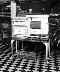Chambers Fireless Stove - circa 1920