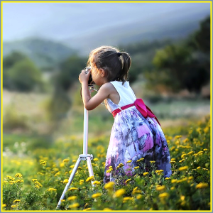 girl-camera-pictures-nature
