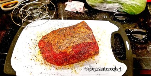Instant Pot Roast Beef - Raw