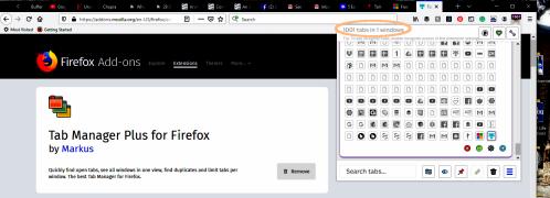 1001 Browser Tabs Open Screenshot